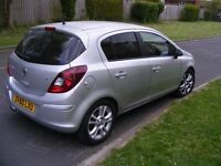 "2010 (60 REG) 5-DOORS, 1.4 SXI(AC) VAUXHALL CORSA D, NEW MOT, 16"" ALLOY WHEELS , TINTED WINDOWS VGC"