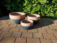 Assorted plant pots for sale