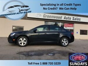 2014 Chevrolet Cruze LEATHER! SUNROOF! GOOD K (53130) FINANCE NO