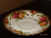 Royal Albert china 'Old Country Rose' 6 x Saucers