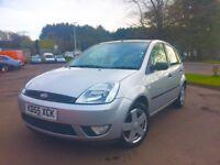 2005 Ford Fiesta Zetec 1.4 full year mot