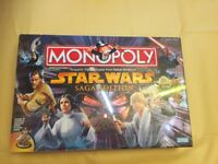 🌟 Star Wars Monopoly Saga Edition 🌟