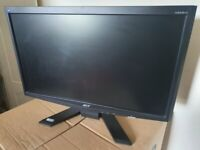 Acer 21.5 inch LCD 1080p monitor