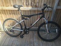 apollo full suspension mountain bike large frame