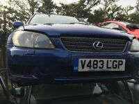 LEXUS IS200 SPORT 1999- FOR PARTS ONLY