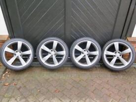 """Audi Rotor Alloys and Tyres 19"""" Ronal"""