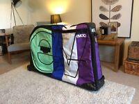 Evoc mountain bike bag, travel case