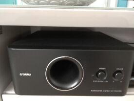 Yamaha Sub with Onkyo Speakers
