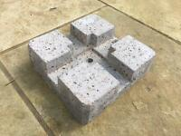 Decking Concrete Blocks x 18