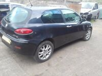 2004 Alfa Romeo 147 1.9 JTD M-Jet 16v BREAKING FOR PARTS SPARES 2 door blue
