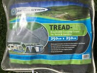 Camping carpet for tents & awnings - tread-lite breathable carpet 250 cm x 250 cm