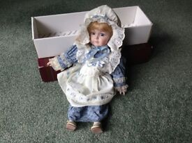 "Alberon Doll with music ""Sunrise Sunset"" with box"