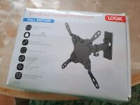 LOGIK Tilt and Swivel TV Bracket Brand New Wall Bracket