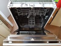 Prima integral dishwasher