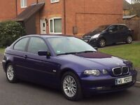 LHD BMW 318i COMPACT RARE INDIVIDUAL MODEL LEFT HAND DRIVE