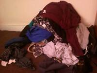 Wardrobe clothes clear out