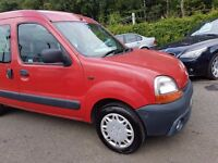 Renault Kangoo 1.2 16v Authentique MOT JULY 17+JUST SERVICED+1 OWNER+3 MONTH WARRANTY INCLUDED
