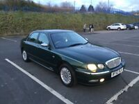 Rover 75 2.5 v6 auto CONNOISSEUR 68k.FSH in mint condition long mot hpi clear px swap