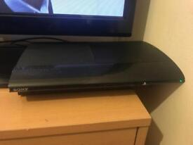 PlayStation 3 and one controller