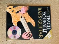 Never Used - Teach Yourself Base Guitar Book and DVD