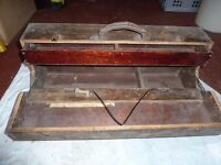 Vintage Woodworking Tool Box