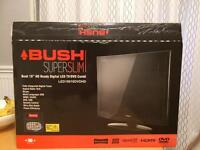 "Bush Super Slim 19"" HD ready digital LED TV/DVD player"