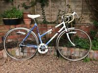 Ladies retro racing bike