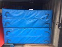 2 Huge Crash Mats, Size 2.50m x 1.70m x 60cm Each Mat, RRP Well Over £2200