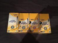 Job Lot of 4 Boxes of 50 Bic Cristal Original Pens – BRAND NEW