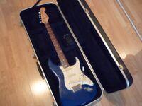 Fender squier stratocaster, hardshell, speial model 2001