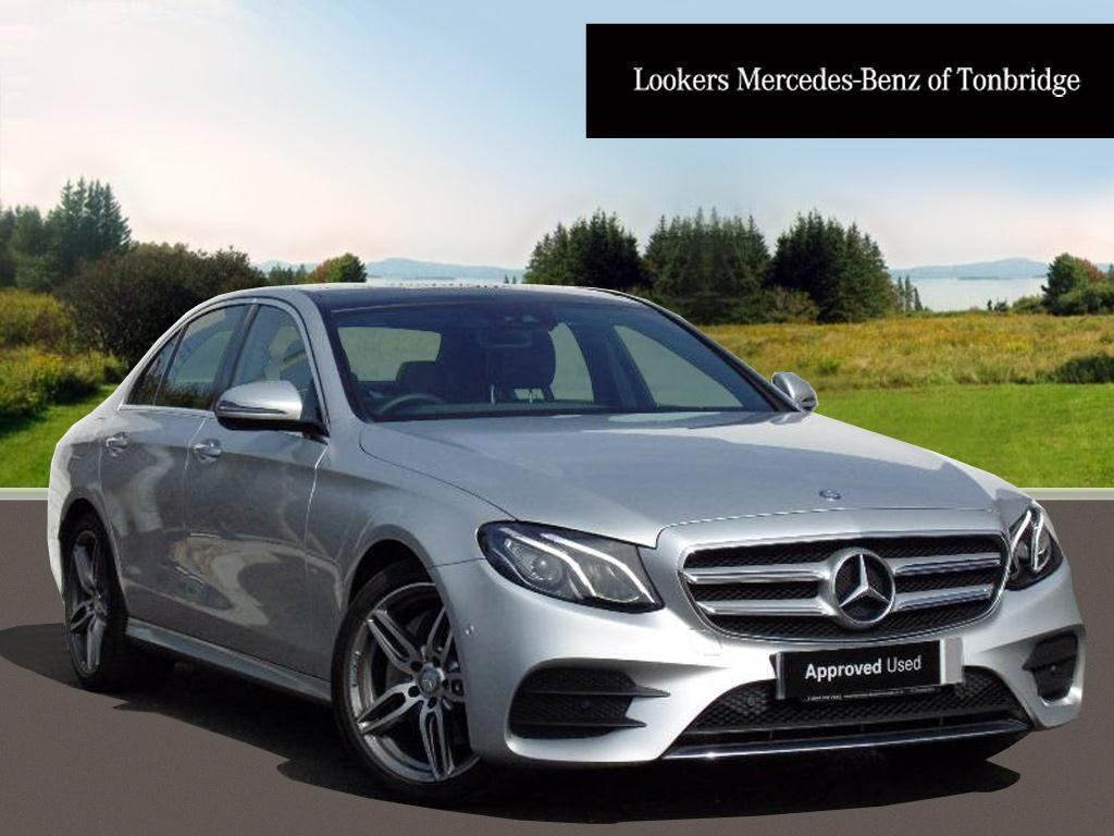 mercedes benz e class e 220 d amg line premium silver 2016 05 31 in tonbridge kent gumtree. Black Bedroom Furniture Sets. Home Design Ideas