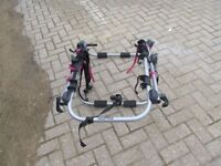 A cycle carrier for 2 bikes