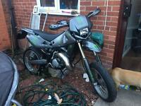 Husqvarna sm125 2003 swap for motocross bike