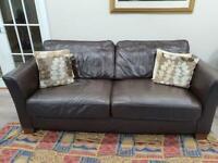 Leather sofa 3 seat