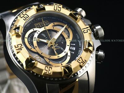 Invicta Men 52mm Reserve SEAWEED GRAY Excursion Touring Ed Swiss Chrono SS Watch