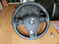 vw toureg touran r multifunction steering wheel in almost new condition cheapest online