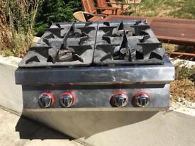 ANGELO PO 290FA Alpha 4 Burner Gas Boiling Table