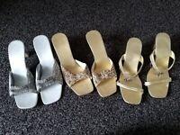 Women's dress up shoes bundle size 7/8