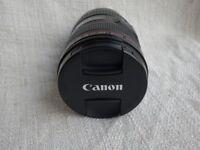 CANON 24 - 105 f4L USM Excellent Condition