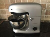 Cooksworks signature food mixer Silver