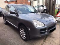Porsche Cayenne 3.2 V6 Tiptronic S AWD 5dr - 2005, 2 Owners, 15 Service Stamps, MOT JULY 2018, £4795