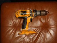 DEWALT XRP 18 volt cordless drill