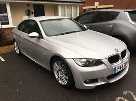 BMW 320D M sport silver