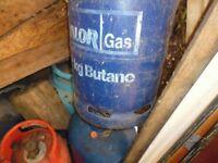 Empty Calor Gas bottles