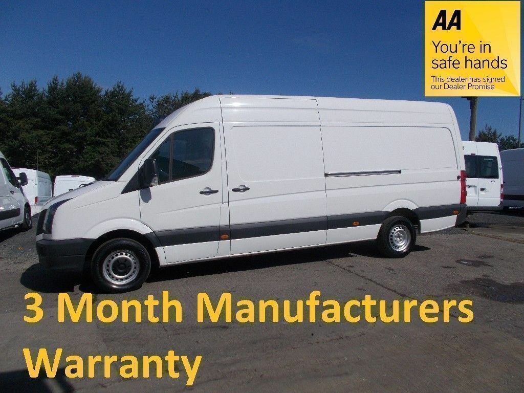 7c4b17e806 Volkswagen Crafter 35 2.0 Tdi 109 LWB H Roof  Lease Co Direct  4 MONTH  MANUFACTURERS WARRANTY