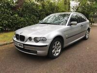 BMW 318 TI SE COMPACT 3 DOOR HATCH 2003 DRIVES THE BEST