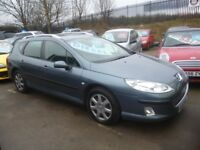 Great looking Peugeot 407 SW HDI,1560 cc Estate,2 previous owners,runs and drives well,great mpg