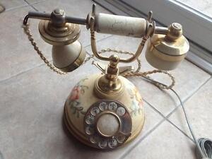 Vintage Victorian Rotary Telephone-Made in Italy