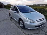 04 Peugeot 307 1.4 16v - mot November - only 83k