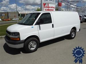2016 Chevrolet Express Cargo Van - Windowless - Rear AUX heater